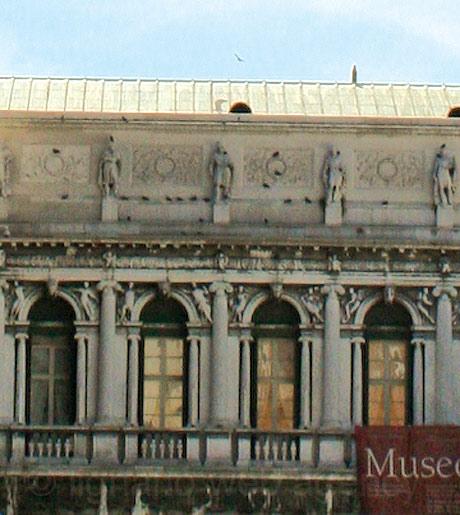 Muzeul civic Correr din Piața San Marco Veneția