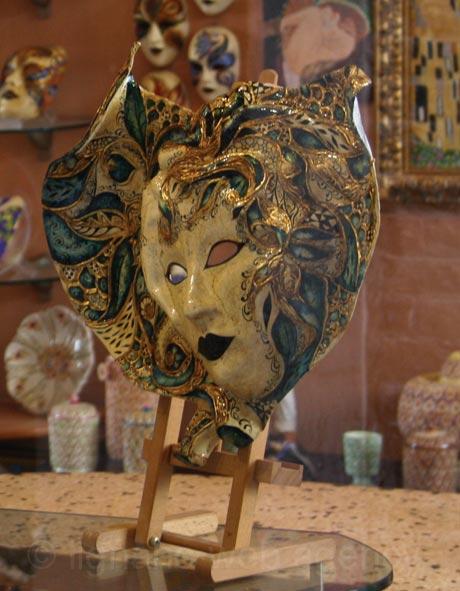 Masca pentru carnavalul din venetia